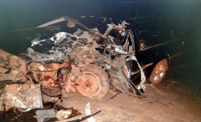Acidente tira a vida de motorista de veículo na BR-267 em Aiuruoca, MG - Fotos: PRF