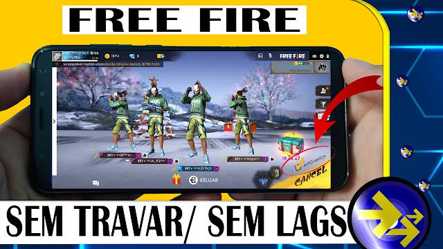 free fire em um celular j5 fraco