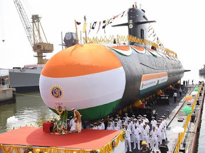 """INS Vela"" Launched by Indian Navy"