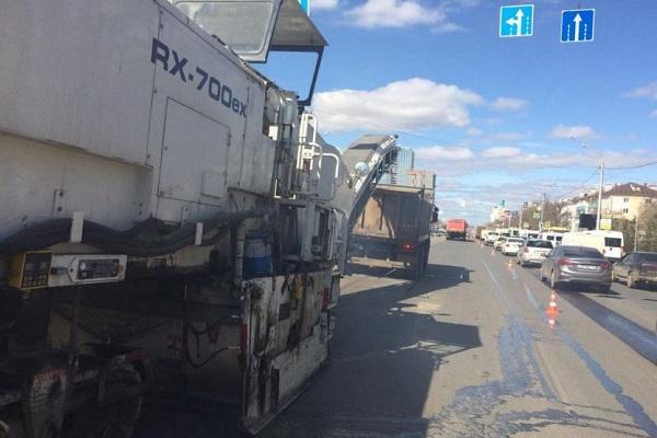 В Уфе ремонтируют проспект Октября и трассу Уфа-Аэропорт