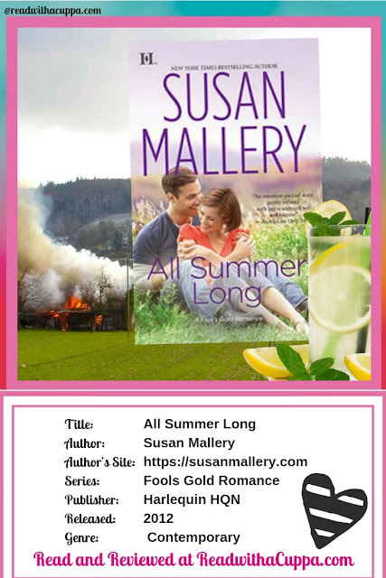 Read the book review for All Summer Long by Susan Mallery at https://www.readwithacuppa.com/2018/09/book-review-all-summer-long-susan.html