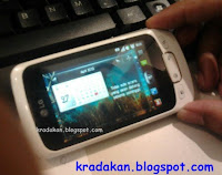 pict by kradakan . LG optimus one