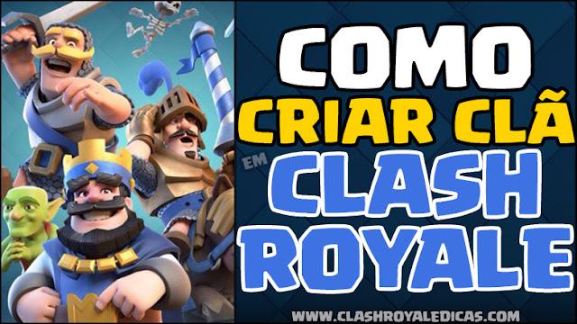 Como criar um clan em Clash Royale - 1