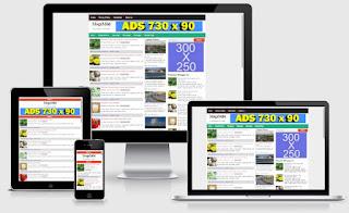Haber ve Dergi Sitili Blogger Teması