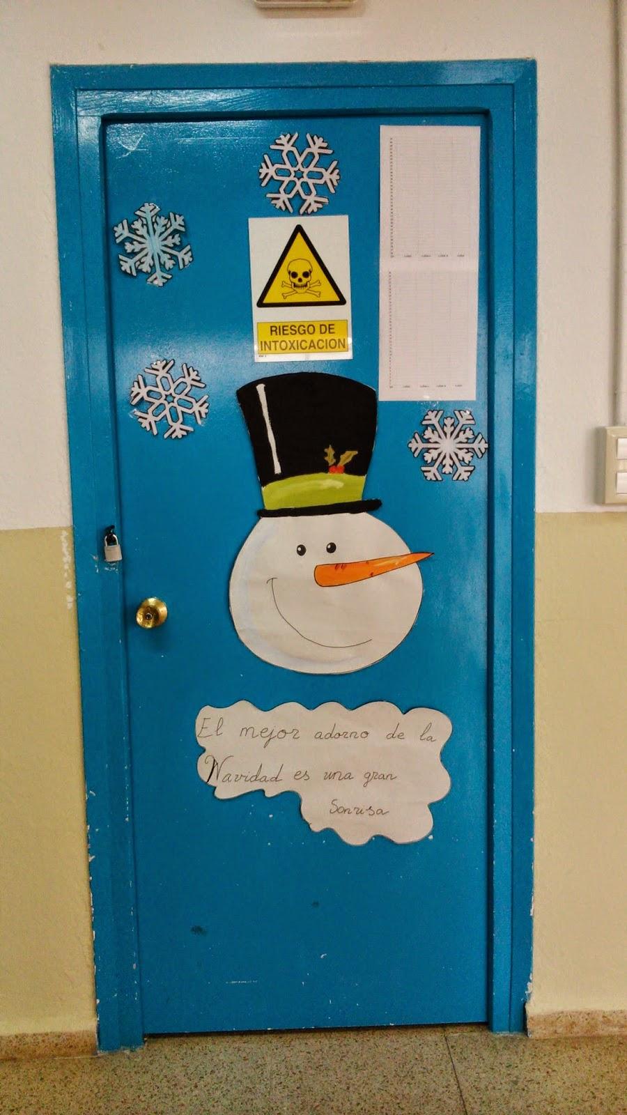 Engranajes decoraci n de navidad de las puertas en infantil for Puertas decoradas arbol de navidad