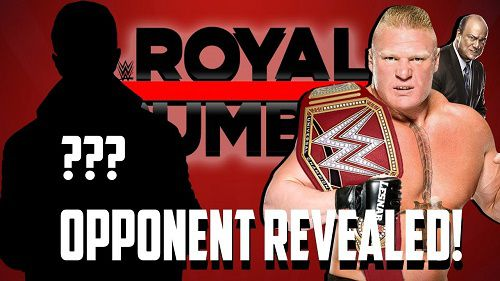 Brock Lesnar Royal Rumble 2018 Match Leaked