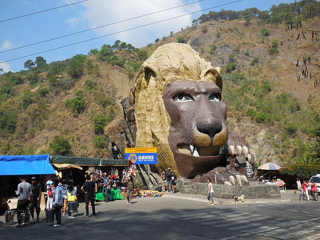 Baguio Lion head