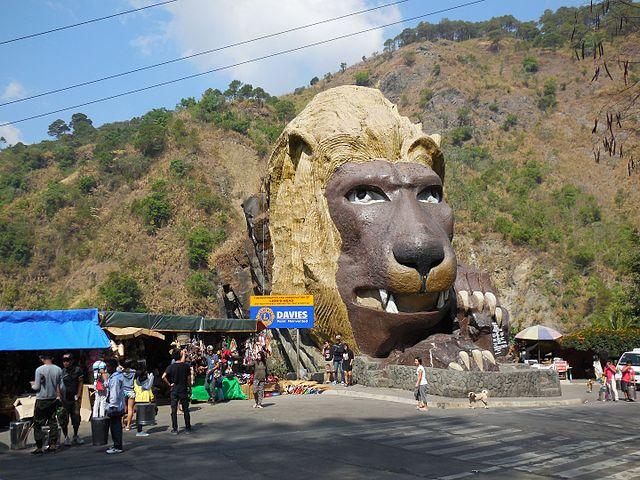 Baguio Lion head