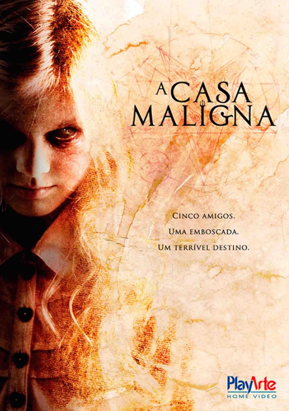 A Casa Maligna Torrent – WEB-DL 720p Dual Áudio (2015)