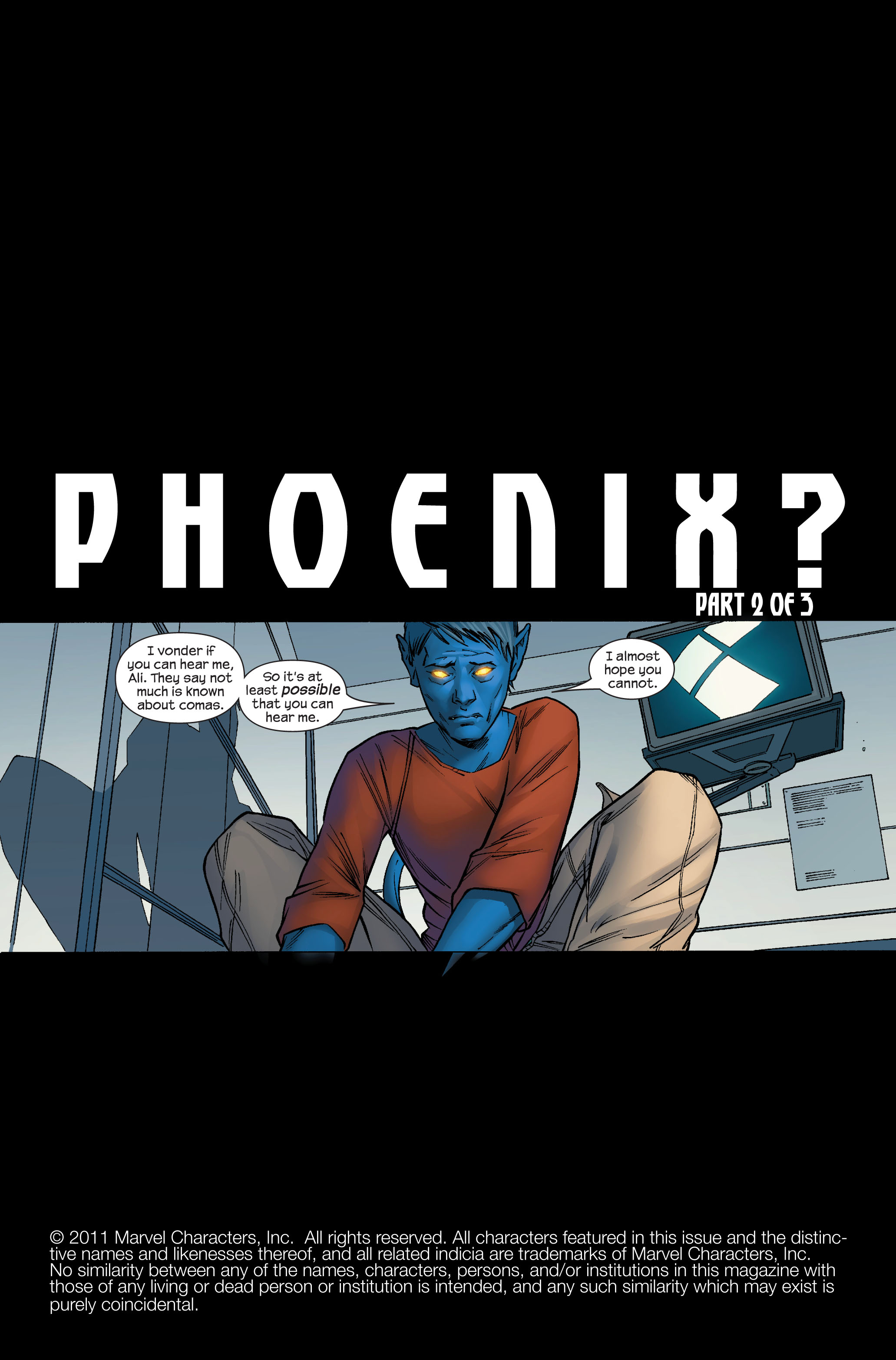 Read online Ultimate X-Men comic -  Issue #70 - 2