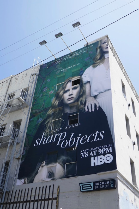 Sharp Objects HBO series billboard