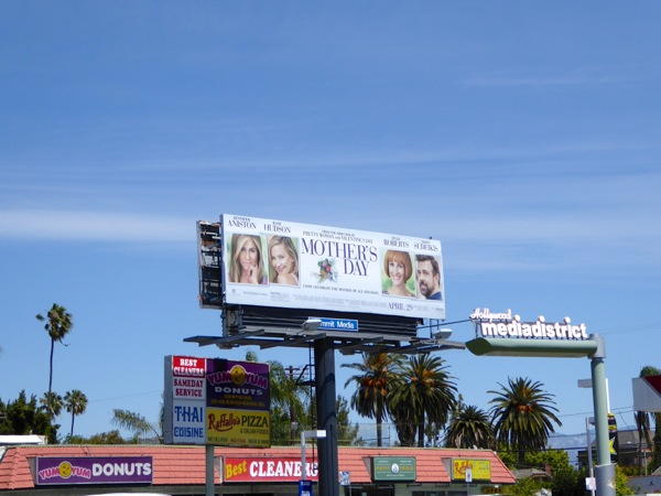 Mother's Day film billboard