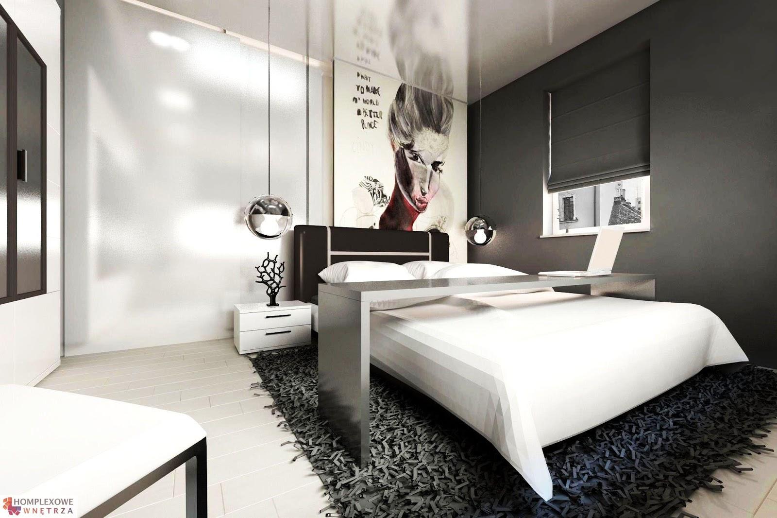 Dekoratornia sypialnia
