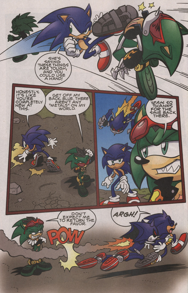 Read online Sonic The Hedgehog comic -  Issue #192 - 10