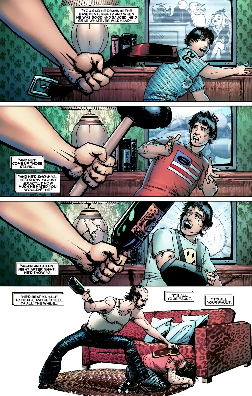 Read online Wolverine (2003) comic -  Issue #56 - 21