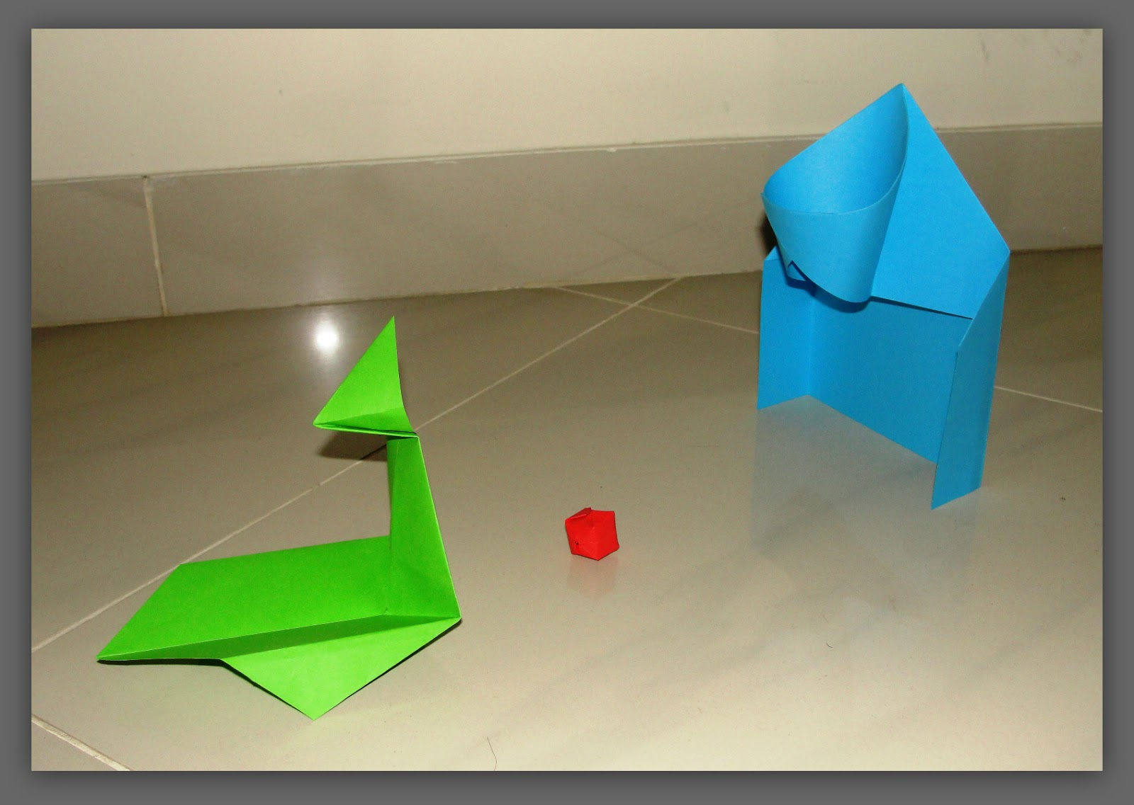 Anujas CraftCollage Origami Action Toy