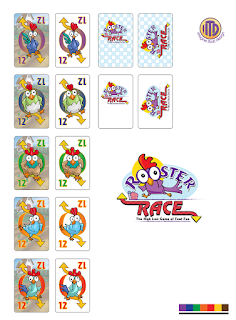 Card options for Rooster Race by ITD