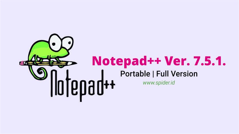 Notepad++ 7.5.1