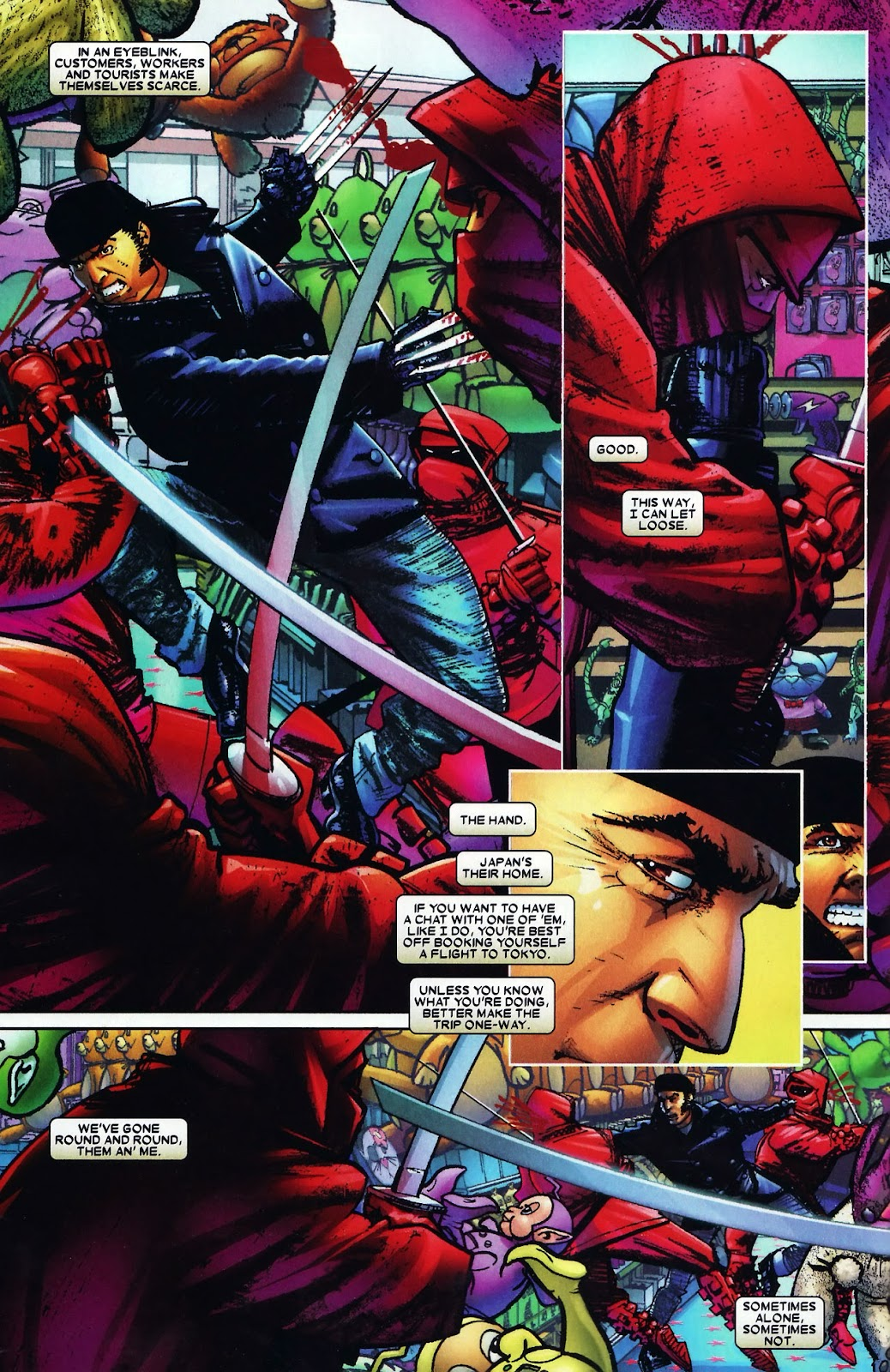 Read online Wolverine (2003) comic -  Issue #60 - 8