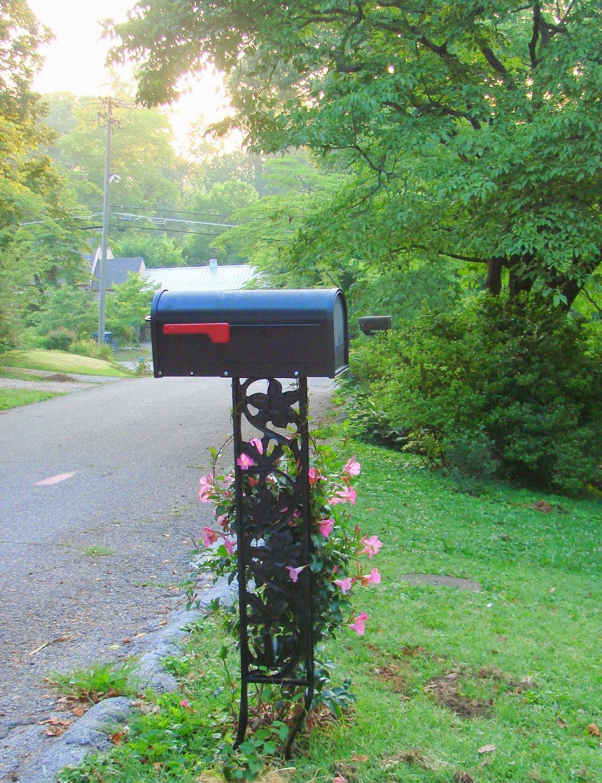 wrought iron mailbox post b i redux i m almost busy to 1666