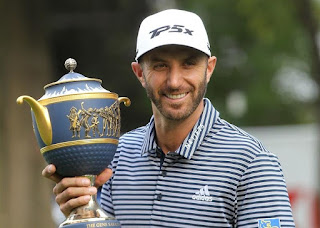 GOLF - Imbatible Dustin Johnson en el World Golf Championship