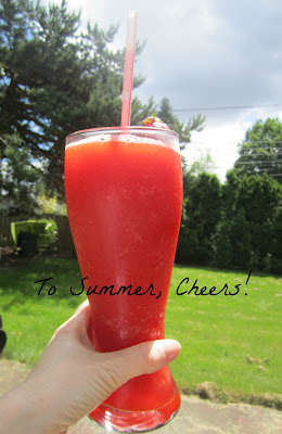 Farmers market-strawberry pie-strawberry daquiri