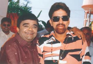 Vishnuvardhan with Dwarakish