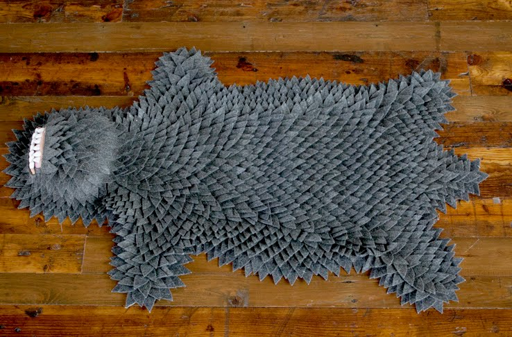 New Monster Skin Rug Now In Grey From Longoland If It