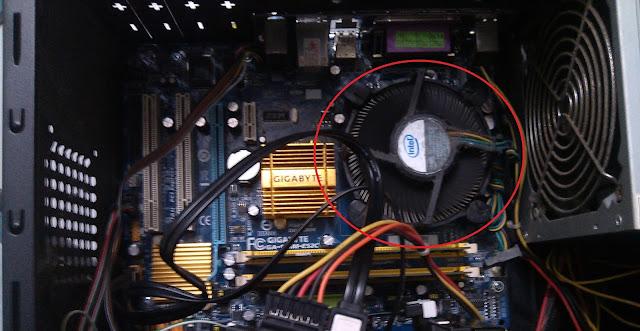 Cần vệ sinh quạt chíp, tra keo tản nhiệt cho CPU
