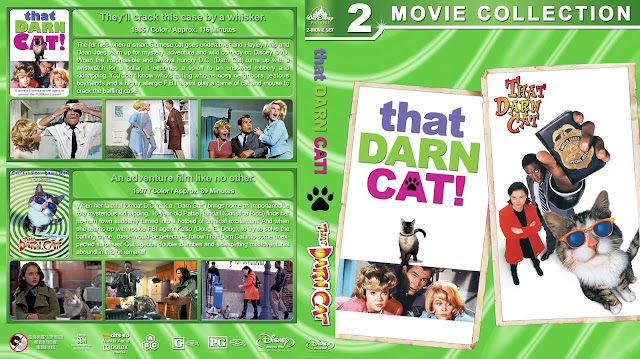 That Darn Cat Double Feature Bluray Cover
