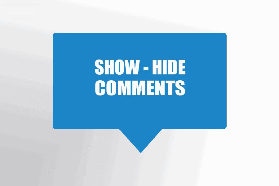 show hide disqus comment amp blog