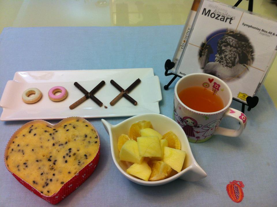 小茉莉的小小世界: 臺式地瓜芝麻愛心蛋糕和OOXX愛情甜點寫字板