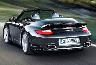 Porsche 911 Turbo S Cabriolet Safety: full size airbags + POSIP