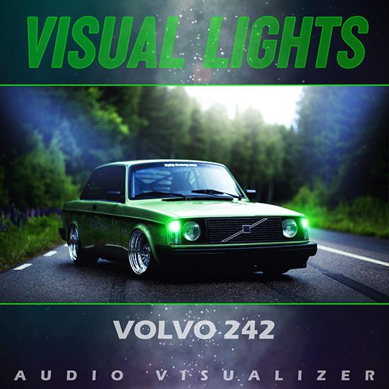 VISUAL LIGHTS - Volvo 242 Wallpaper Engine
