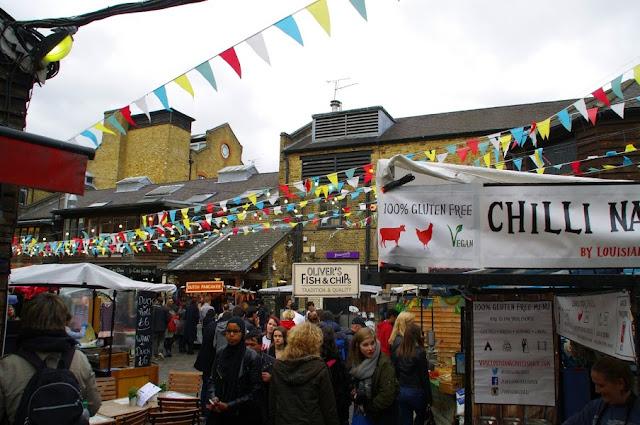 Camden Lock Food Markets London