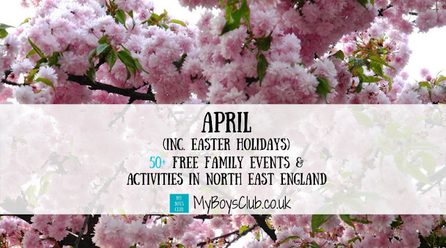 April's FREE Family Events & Activities in North East England (including Easter Holidays)