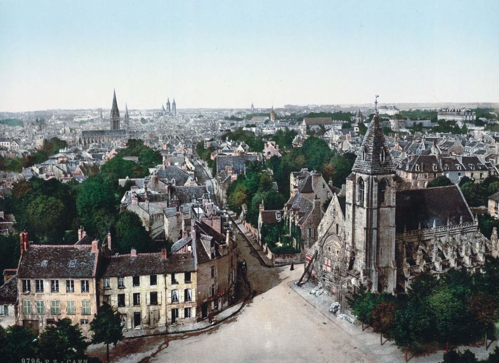 Caen.