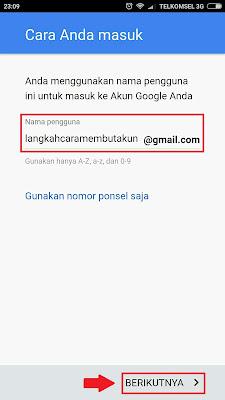 Buat Akun Gmail Baru Lewat Hp Android | Daftar Email Indonesia