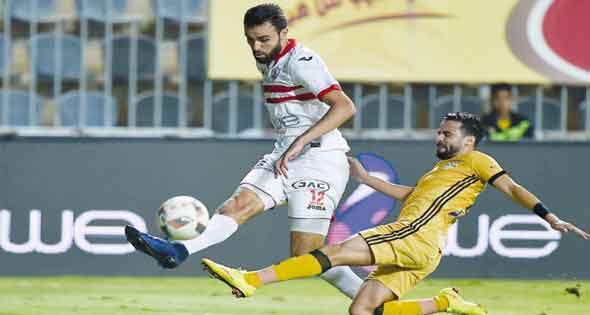 موعد مباراة الزمالك وسموحة في كأس مصر والقنوات الناقلة للمباراة