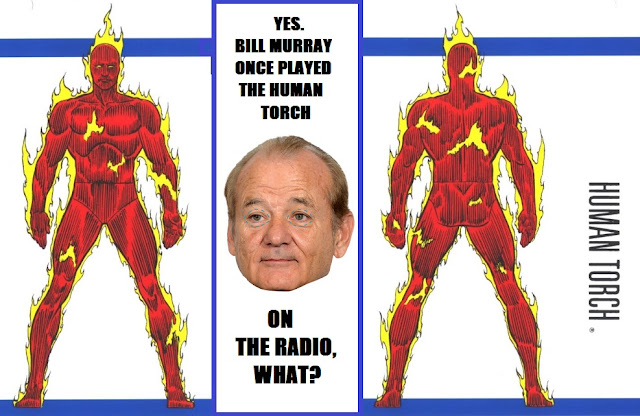 Bill Murray Fantastic Four, Fantastic Four radio drama, Stan Lee Fantastic Four