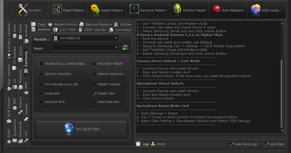 Uni Android Tool (Reset FRP, Bypass Mi Cloud, Update and more