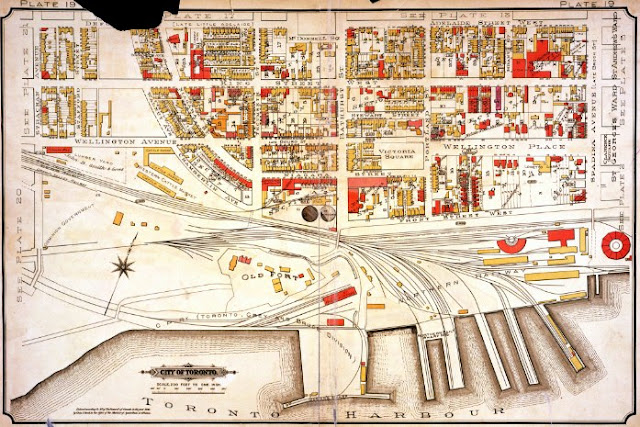 Plate 19, Goad's Atlas of the City of Toronto, 1894