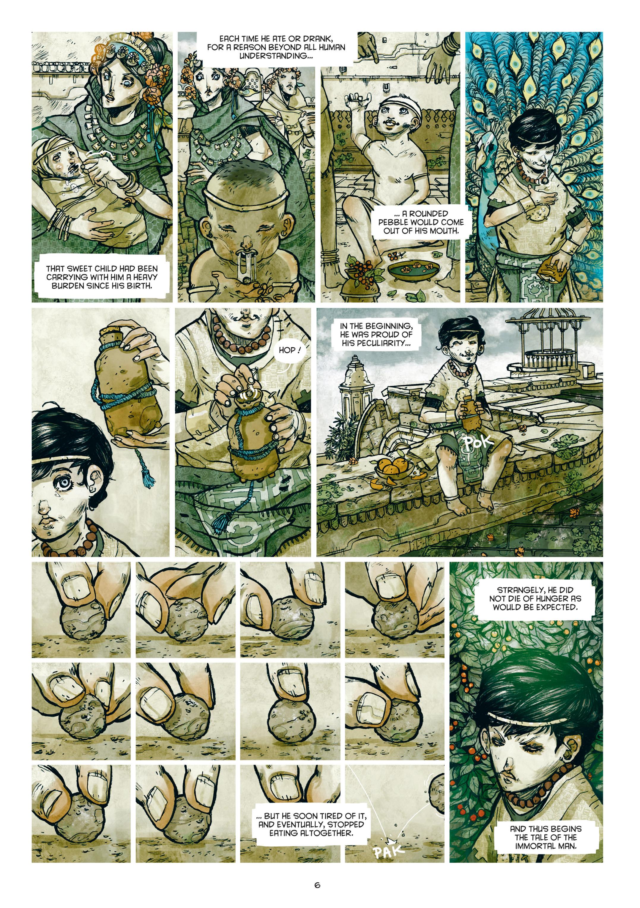 Read online Adrastée comic -  Issue #1 - 7
