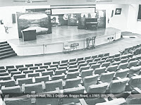 Modern concert hall in Brisbane's Boggo Road Gaol, c.1985.