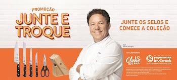Campanha Junte e Troque traz ação exclusiva com chef Claude Troigros e Tramontina