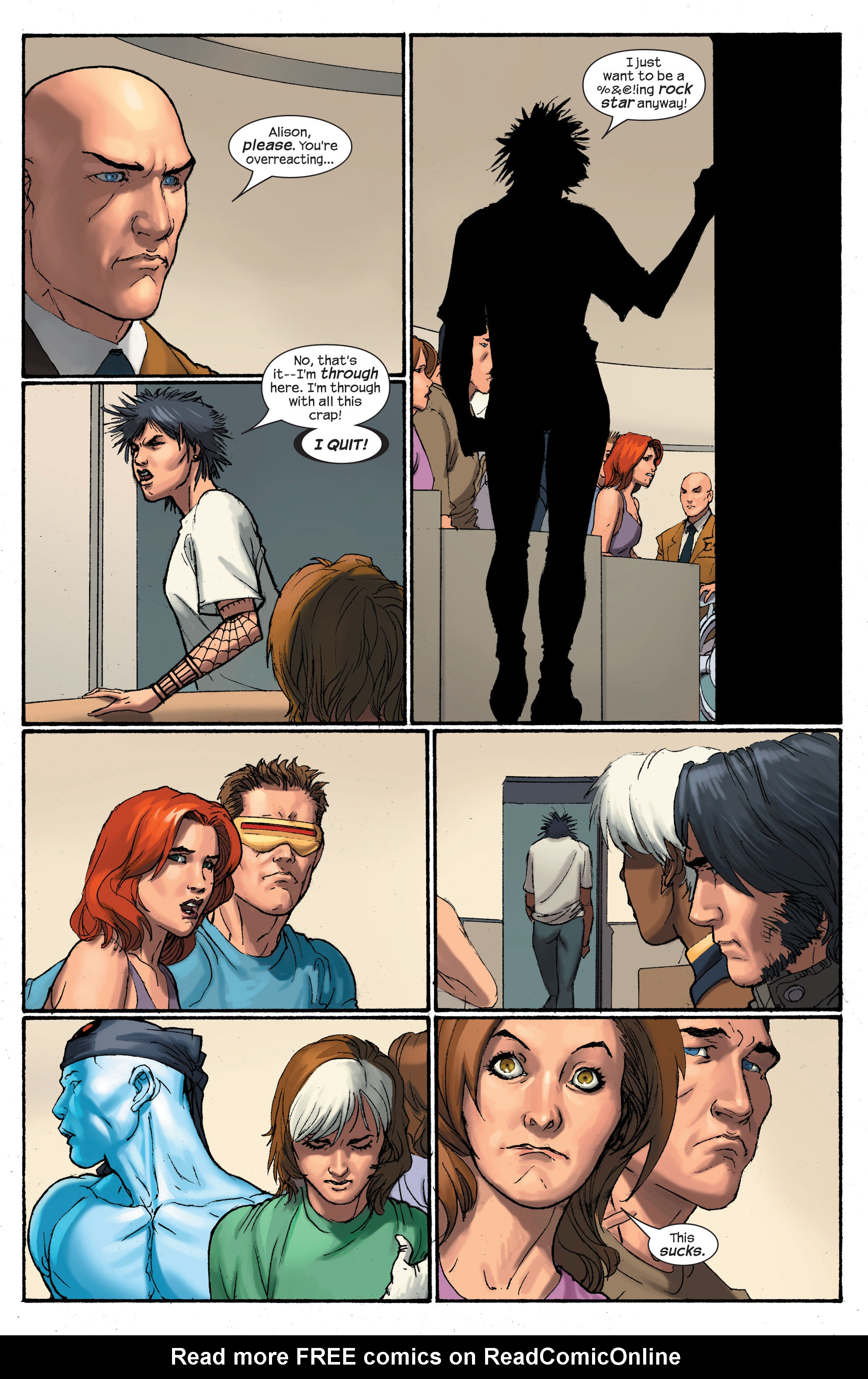 Read online Ultimate X-Men comic -  Issue # _Annual 2 - 34