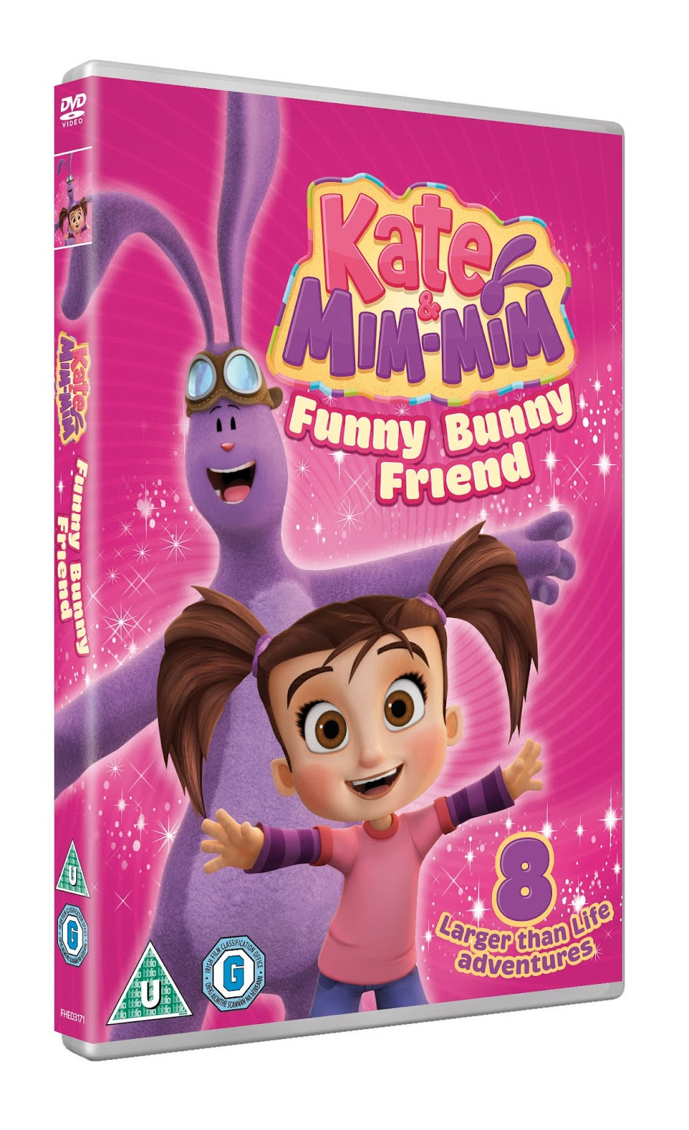 Kate and Mim-Mim: Funny Bunny Friend on DVD - Review and Giveaway