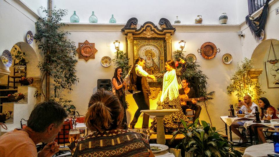 Espagne Andalousie Cordoue Córdoba flamenco