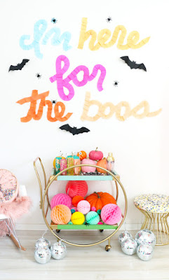 Colorful Halloween Decorations
