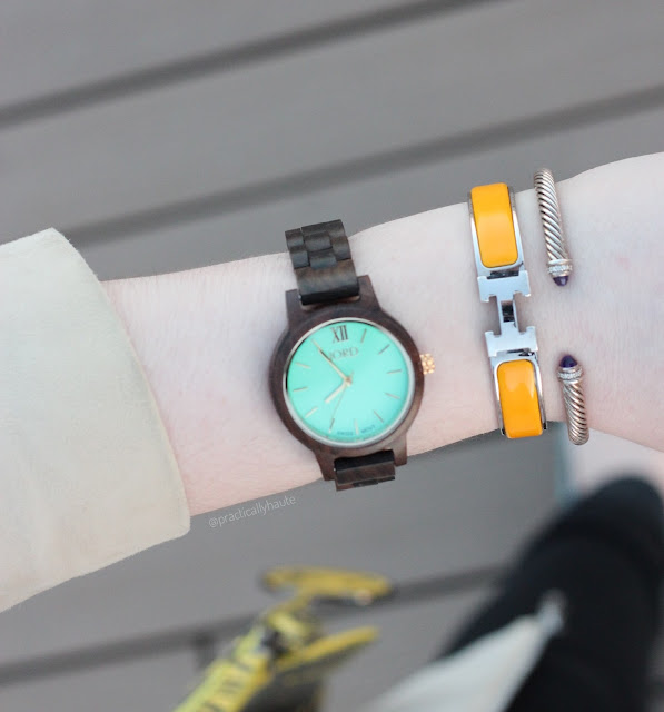 JORD wood women's watch, unique gift
